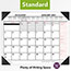 """AT-A-GLANCE® Two-Color Monthly Desk Pad Calendar, 22"""" x 17"""", 2021 Thumbnail 3"""