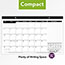 "AT-A-GLANCE® Compact Desk Pad, 17 3/4"" x 10 7/8"", White, 2021 Thumbnail 4"