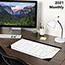 "AT-A-GLANCE® Contemporary Compact Desk Pad, 17 3/4"" x 10 7/8"", 2021 Thumbnail 6"
