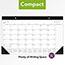 "AT-A-GLANCE® Contemporary Compact Desk Pad, 17 3/4"" x 10 7/8"", 2021 Thumbnail 5"
