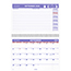AT-A-GLANCE® Wirebound Monthly Desk/Wall Calendar, 11 x 8, 2020-2021 Thumbnail 1