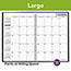 """AT-A-GLANCE® DayMinder® Monthly Planner, 7 7/8"""" x 11 7/8"""", Black Two-Piece Cover, 2021-2022 Thumbnail 6"""