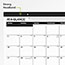 "AT-A-GLANCE® Ruled Desk Pad, 22"" x 17"", 2021 Thumbnail 2"