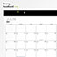 """AT-A-GLANCE® Contemporary Monthly Desk Pad, 21 3/4"""" x 17"""", 2021 Thumbnail 4"""