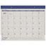 "AT-A-GLANCE® Fashion Color Desk Pad, 22"" x 17"", Blue, 2021 Thumbnail 1"