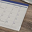 "AT-A-GLANCE® Fashion Color Desk Pad, 22"" x 17"", Blue, 2021 Thumbnail 3"