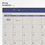 "AT-A-GLANCE® Fashion Color Desk Pad, 22"" x 17"", Blue, 2021 Thumbnail 2"