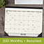 "AT-A-GLANCE® Recycled Monthly Desk Pad, 22"" x 17"", 2021 Thumbnail 5"
