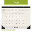 "AT-A-GLANCE® Recycled Monthly Desk Pad, 22"" x 17"", 2021 Thumbnail 4"