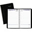 "AT-A-GLANCE® DayMinder® Daily Appointment Book with Hourly Appointments, 4 7/8"" x 8"", Black, 2021 Thumbnail 1"