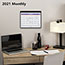 """AT-A-GLANCE® Monthly Desk/Wall Calendar, 11"""" x 8 1/4"""", White, 2021 Thumbnail 5"""