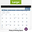 """AT-A-GLANCE® Easy-to-Read Monthly Desk Pad, 22"""" x 17"""", Easy-to-Read, 2021 Thumbnail 4"""