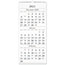 """AT-A-GLANCE® Three-Month Reference Wall Calendar, 12"""" x 27"""", 2021-2022 Thumbnail 1"""