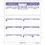 "AT-A-GLANCE® Flip-A-Week Desk Calendar Refill, 5 5/8"" x 7"", White, 2021 Thumbnail 1"
