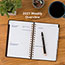 """AT-A-GLANCE® Signature Collection Distressed Brown Weekly Monthly Planner, 5 3/4"""" x 8 1/2"""",2022 Thumbnail 8"""