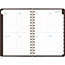"""AT-A-GLANCE® Signature Collection Distressed Brown Weekly Monthly Planner, 5 3/4"""" x 8 1/2"""",2022 Thumbnail 3"""