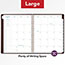 """AT-A-GLANCE® Signature Collection Distressed Brown Weekly Monthly Planner, 8 3/4"""" x 11"""", 2021 Thumbnail 6"""
