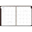 """AT-A-GLANCE® Signature Collection Distressed Brown Weekly Monthly Planner, 8 3/4"""" x 11"""", 2021 Thumbnail 2"""