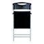 Alba™ AlbaSmile Folding Chair, Black, 2/ST Thumbnail 4