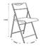 Alba™ AlbaSmile Folding Chair, Black, 2/ST Thumbnail 2