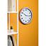 Alba™ Wall Clock, Analog, Metallic Gray Thumbnail 4