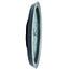 Alba™ Wall Clock, Analog, Metallic Gray Thumbnail 3