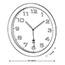 Alba™ Wall Clock, Analog, Metallic Gray Thumbnail 2