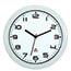 Alba™ Wall Clock, Analog, White Thumbnail 1