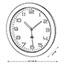 Alba™ Wall Clock, Analog, White Thumbnail 3