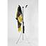 Alba™ Aluminum Floor Coat Stand, 6 Small Hook, 3 Pegs, Black Thumbnail 9