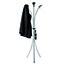 Alba™ Aluminum Floor Coat Stand, 6 Small Hook, 3 Pegs, Black Thumbnail 8