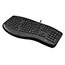 Adesso TruForm Media 160 - Ergonomic Desktop Keyboard - Cable Connectivity - USB Interface - 104 Key - English (US) - Scroll Wheel - Windows - Membrane Keyswitch - Black Thumbnail 8