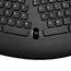 Adesso TruForm Media 160 - Ergonomic Desktop Keyboard - Cable Connectivity - USB Interface - 104 Key - English (US) - Scroll Wheel - Windows - Membrane Keyswitch - Black Thumbnail 5