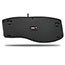 Adesso TruForm Media 160 - Ergonomic Desktop Keyboard - Cable Connectivity - USB Interface - 104 Key - English (US) - Scroll Wheel - Windows - Membrane Keyswitch - Black Thumbnail 2