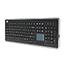 Adesso SofTouch Keyboard - USB - 104 Keys - Chrome Thumbnail 1