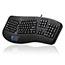 Adesso Tru-Form 450 - Ergonomic Touchpad Keyboard - Cable Connectivity - USB Interface - 105 Key - English (US) - TouchPad - Windows - Membrane Keyswitch - Black Thumbnail 7
