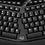 Adesso Tru-Form 450 - Ergonomic Touchpad Keyboard - Cable Connectivity - USB Interface - 105 Key - English (US) - TouchPad - Windows - Membrane Keyswitch - Black Thumbnail 5