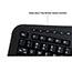 Adesso Tru-Form 450 - Ergonomic Touchpad Keyboard - Cable Connectivity - USB Interface - 105 Key - English (US) - TouchPad - Windows - Membrane Keyswitch - Black Thumbnail 3