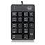 Adesso USB Spill Resistant 18-Key Numeric Keypad - Cable Connectivity - USB Interface - 18 Key - English (US) - Windows - Membrane Keyswitch - Black Thumbnail 7