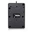 Adesso USB Spill Resistant 18-Key Numeric Keypad - Cable Connectivity - USB Interface - 18 Key - English (US) - Windows - Membrane Keyswitch - Black Thumbnail 3