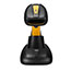 "Adesso NuScan 4100B Bluetooth Antimicrobial Waterproof CCD Barcode Scanner - Wireless Connectivity - 200 scan/s - 12"" Scan Distance - 1D - CCD - Bluetooth - Yellow, Black Thumbnail 7"