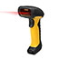 "Adesso NuScan 4100B Bluetooth Antimicrobial Waterproof CCD Barcode Scanner - Wireless Connectivity - 200 scan/s - 12"" Scan Distance - 1D - CCD - Bluetooth - Yellow, Black Thumbnail 3"