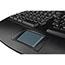 Adesso Tru-Form 4500 - 2.4GHz Wireless Ergonomic Touchpad Keyboard - Wireless Connectivity - RF - USB Interface - 105 Key - English (US) - TouchPad - Windows - Membrane Keyswitch - Black Thumbnail 5