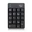 Adesso Wireless Spill Resistant 18-Key Numeric Keypad - Wireless Connectivity - RF - USB Interface - 18 Key - English (US) - Windows - Membrane Keyswitch - Black Thumbnail 7