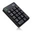 Adesso Wireless Spill Resistant 18-Key Numeric Keypad - Wireless Connectivity - RF - USB Interface - 18 Key - English (US) - Windows - Membrane Keyswitch - Black Thumbnail 5