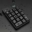 Adesso Wireless Spill Resistant 18-Key Numeric Keypad - Wireless Connectivity - RF - USB Interface - 18 Key - English (US) - Windows - Membrane Keyswitch - Black Thumbnail 3