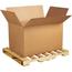 """W.B. Mason Co. Double Wall Corrugated boxes, 41"""" x 28 3/4"""" x 25 1/2"""", Kraft, 5/BD Thumbnail 1"""