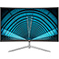 "AOC C32V1Q 31.5"" Full HD Curved Screen LCD Monitor - 16:9 - Black, Silver - 1920 x 1080 - 16.7 Million Colors - 250 Nit Typical - 4 ms GTG - HDMI - VGA - DisplayPort Thumbnail 2"