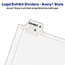Avery® Standard Collated Legal Dividers Style, Letter Size, Avery-Style, Side Tab Dividers, 1-25 Tab Set Thumbnail 2