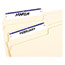 Avery® File Folder Labels, Permanent Adhesive, Dark Blue, 1/3 Cut, 252/PK Thumbnail 2